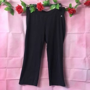 Danskin Black Capri Workout Leggings